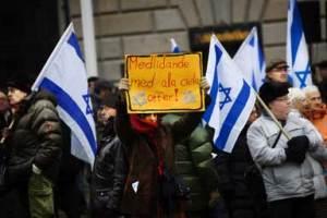 Unsere Manifestation ohne Hass für Frieden