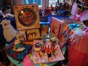 Hannchens Geburtstagstisch